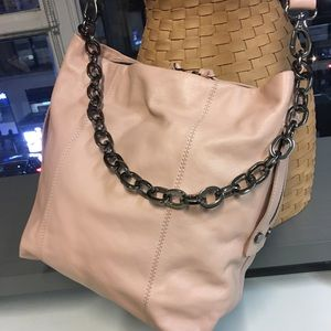Kooba Dante Hobo in Blush Leather